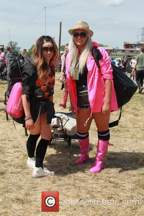 Glastonbury Festival and Atmosphere 11