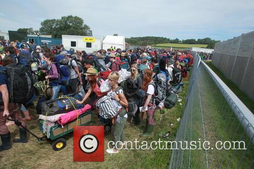 Glastonbury Festival and Atmosphere 21