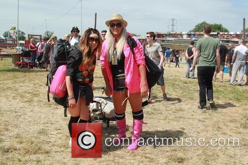 Glastonbury Festival and Atmosphere 22