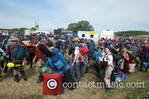 Glastonbury Festival and Atmosphere 23