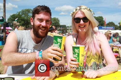 Glastonbury Festival and Atmosphere 9