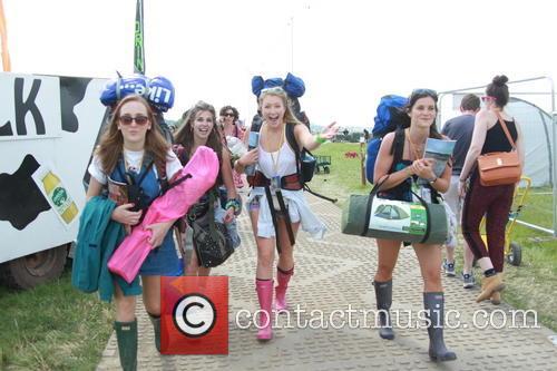 Glastonbury Festival and Atmosphere 25