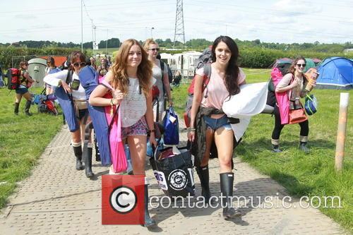 Glastonbury Festival and Atmosphere 1