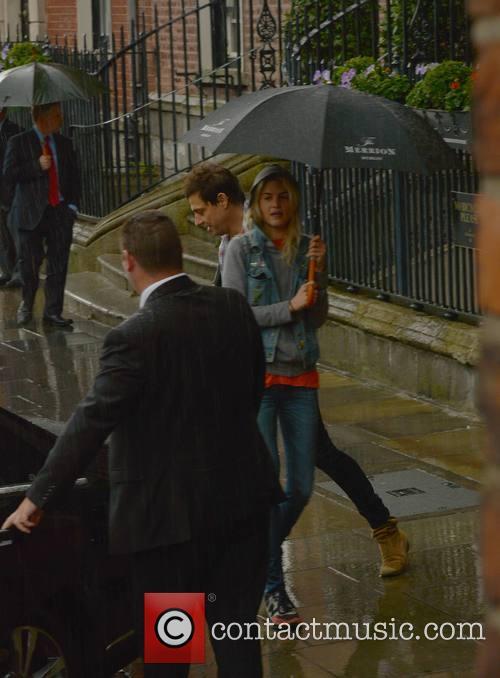 Jamie Hince leaving The Merrion Hotel