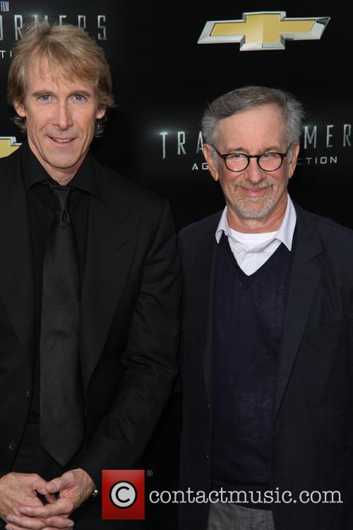 Michael Bay and Steven Spielberg 2