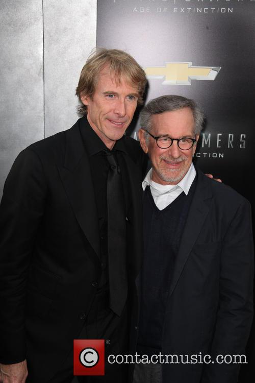 Michael Bay and Steven Spielberg 1