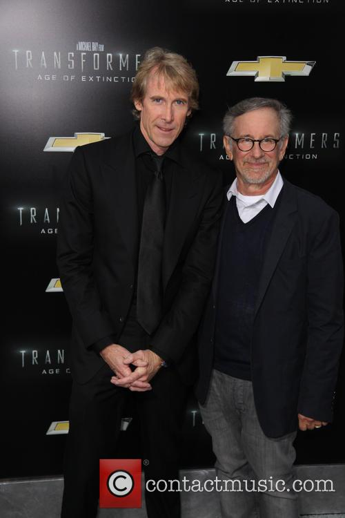 Michael Bay and Steven Spielberg 3