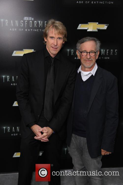 Michael Bay and Steven Spielberg 4