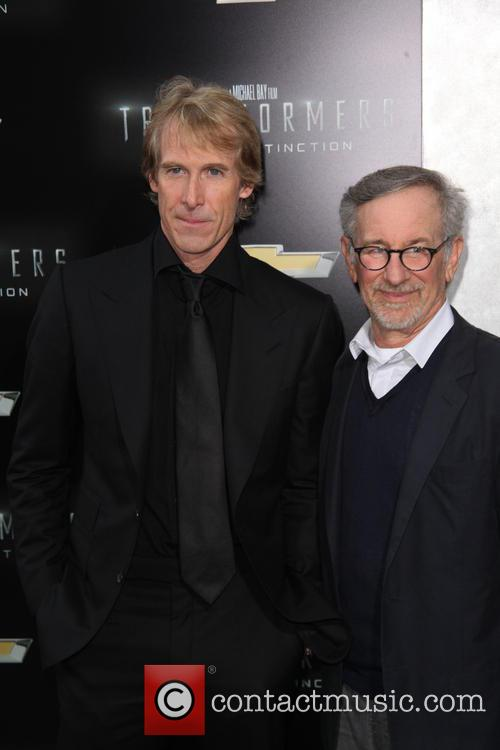 Michael Bay and Steven Spielberg 5