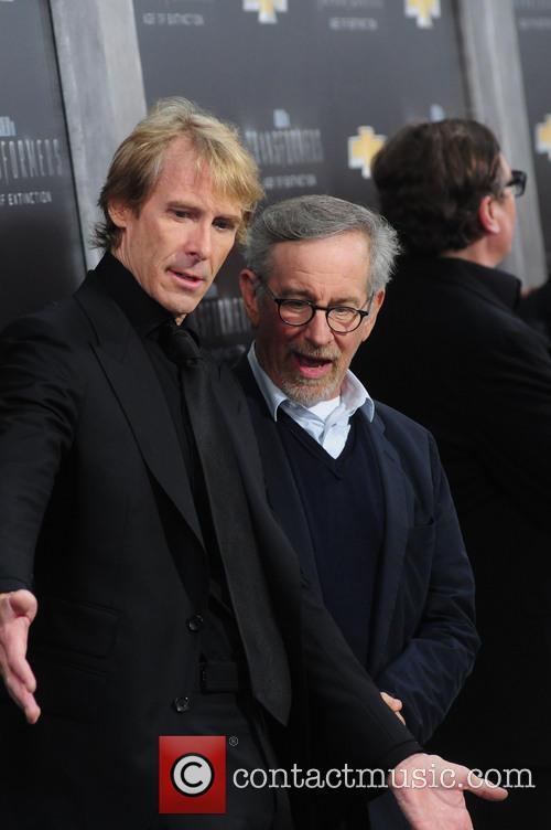 Steven Spielberg and Michael Bay 5