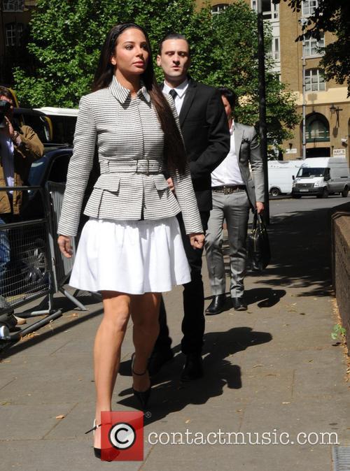 Tulisa Contostavlos at Southwark Crown Court