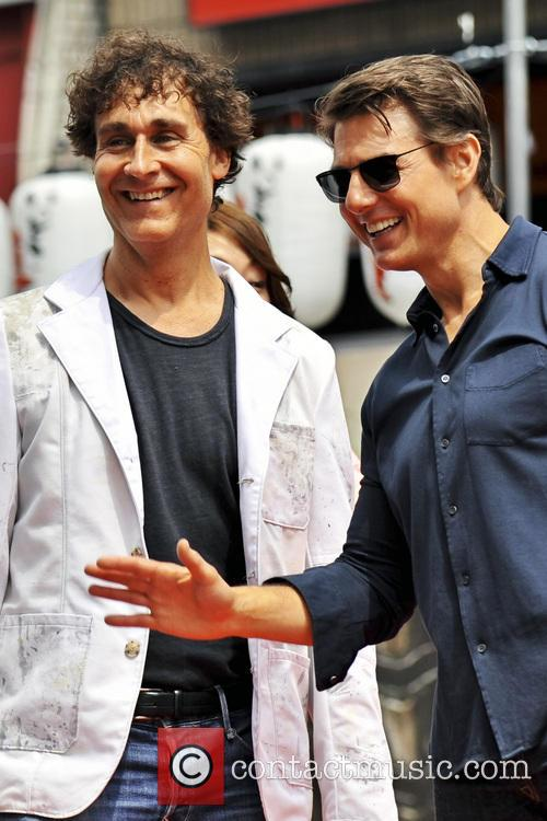 Doug Liman and Tom Cruise 3