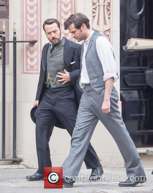 Jeremy Piven and Gregory Fitoussi 2