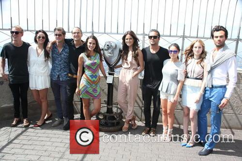Jamie Laing, Binky Felstead, Stevie Johnson, Oliver Proudlock, Lucy Watson, Rosie Fortescue, Spencer Matthews, Louise Thompson, Riley Uggla and Mark-francis Vandelli 2