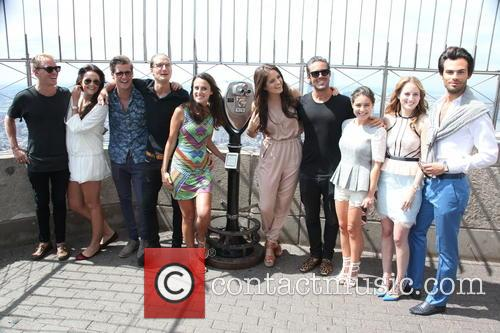 Jamie Laing, Binky Felstead, Stevie Johnson, Oliver Proudlock, Lucy Watson, Rosie Fortescue, Spencer Matthews, Louise Thompson, Riley Uggla and Mark-francis Vandelli 3