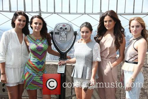 Riley Uggla, Lucy Watson, Louise Thompson, Binky Felstead and Rosie Fortescue 3