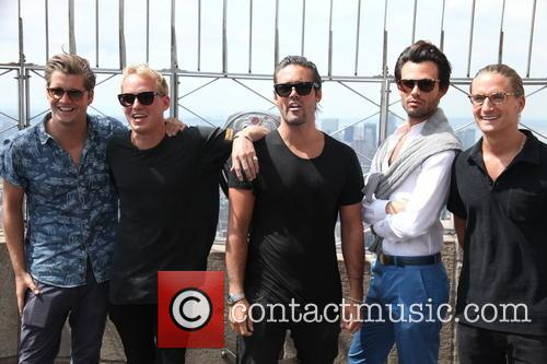 Stevie Johnson, Jamie Laing, Spencer Matthews, Mark-francis Vandelli and Oliver Proudlock 1