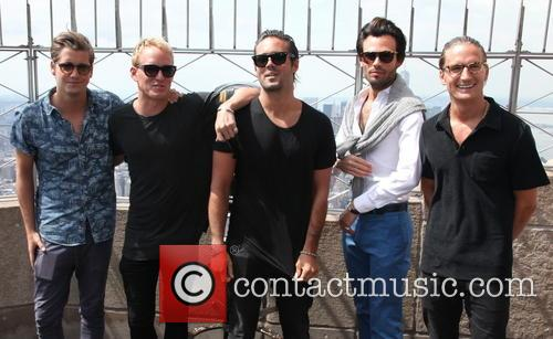 Stevie Johnson, Jamie Laing, Spencer Matthews, Mark-francis Vandelli and Oliver Proudlock 3