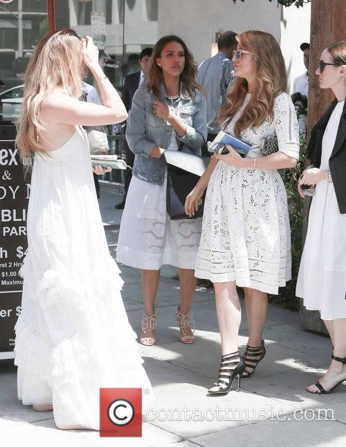 jessica alba jessica alba attends the wedding 4262682