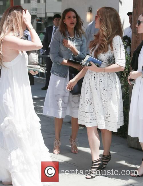 jessica alba jessica alba attends the wedding 4262685