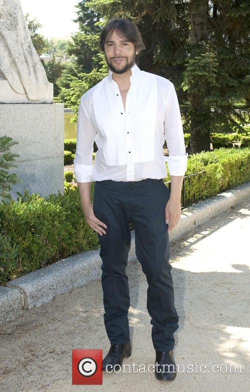 Joaquin Cortes attends a photocall for his show...