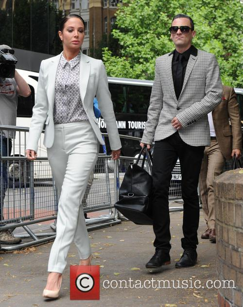 Tulisa Contostavlos at Southwark Crown Court
