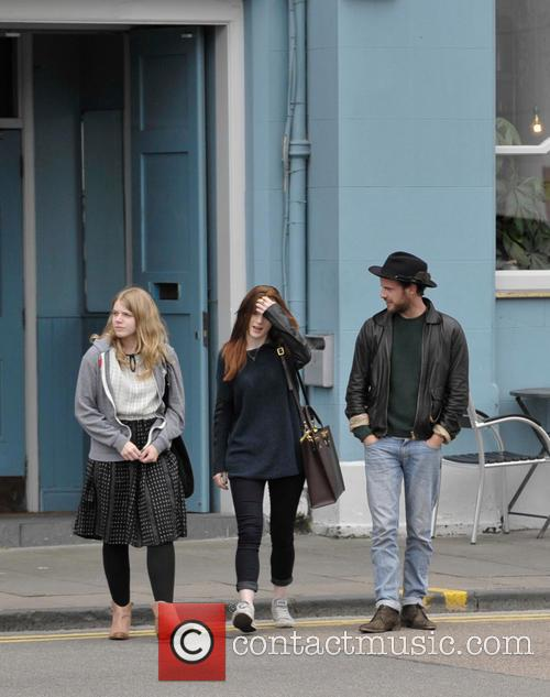 Leigh Janiak, Rose Leslie and Harry Treadaway 5