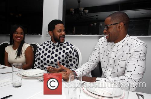 Jay Ellis Birthday celebration Dinner with Family and...