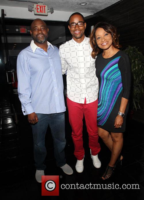 Jay Ellis and And His Parents 6