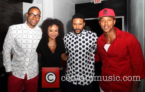 Jay Ellis, Joyful Drake, Hosea Chanchez and Wesley Jonathan 4