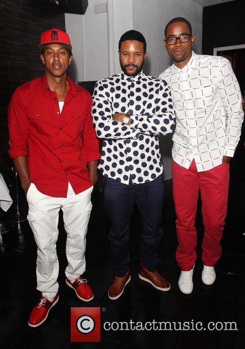 Wesley Jonathan, Hosea Chanchez and Jay Ellis 3
