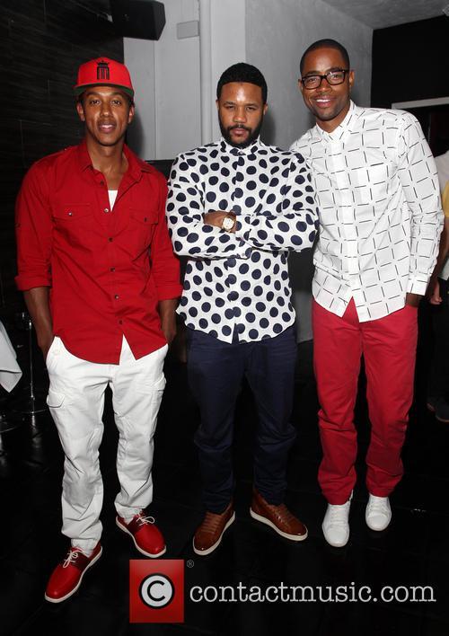 Wesley Jonathan, Hosea Chanchez and Jay Ellis 5