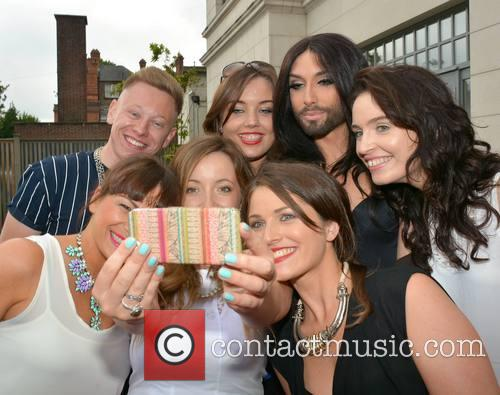 Conchita Wurst at the Dylan Hotel