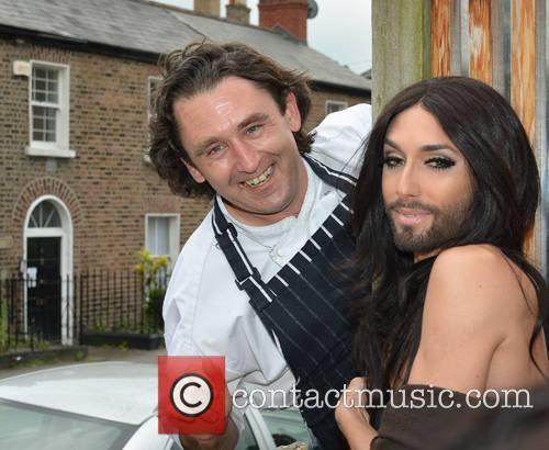 Conchita Wurst and David Keogh 6