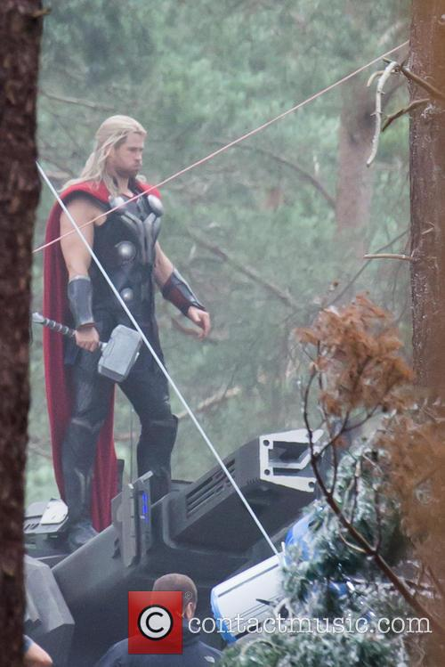 Avengers and Chris Hemworth 3