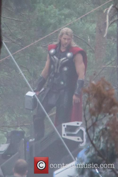 Avengers and Chris Hemworth 5