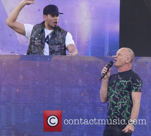 Sting, Gordon Sumner and Afrojack 4
