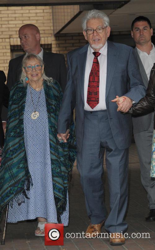 Rolf Harris and Alwen Hughes 3