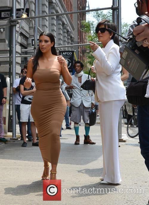 Kim Kardashian and Kris Jenner 6