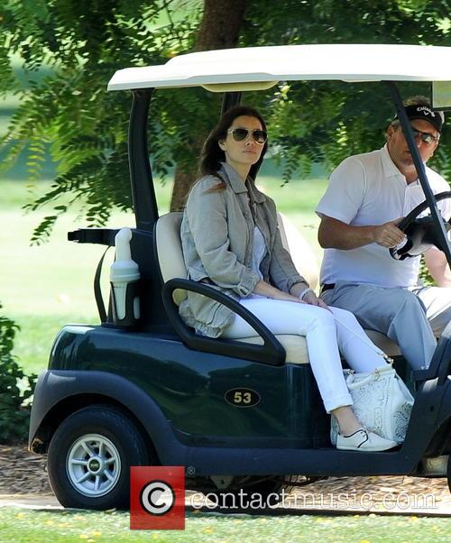 jessica biel justin timberlake plays golf while 4262522