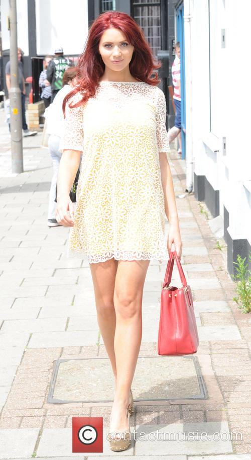 Amy Childs out in Brentwood, Essex