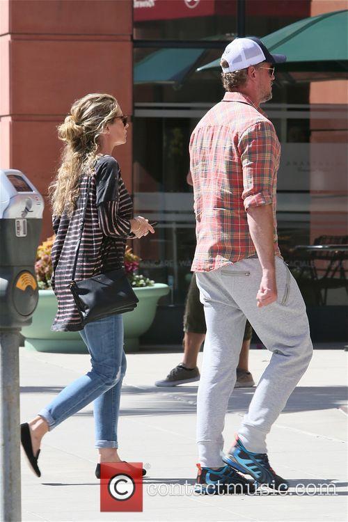 Rebecca Gayheart and Eric Dane leave a doctors...