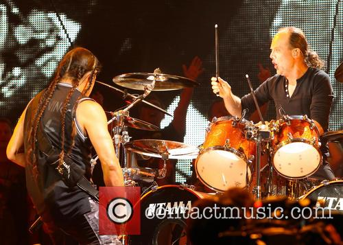 Lars Ulrich, Robert Trujillo and Metallica 2