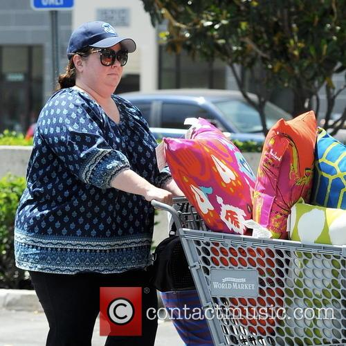 Melissa McCarthy goes shopping at Cost Plus World...