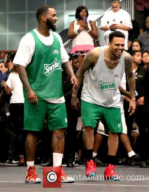 The Game and Chris Brown 3