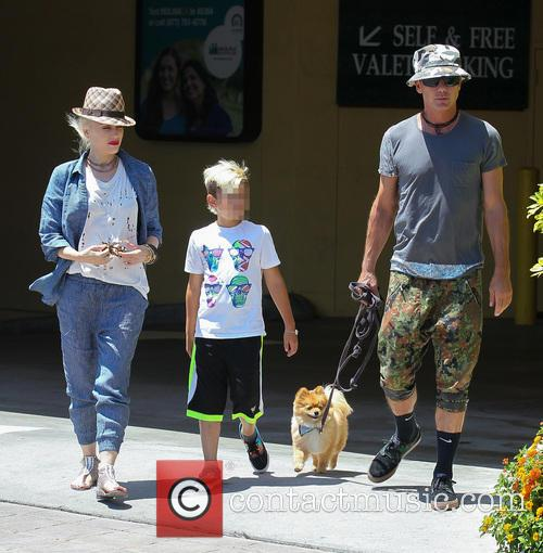 Gwen Stefani, Gavin Rossdale and Kingston Rossdale 8