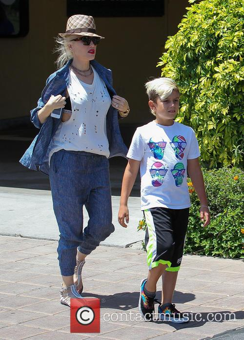 Gwen Stefani and Kingston Rossdale 6