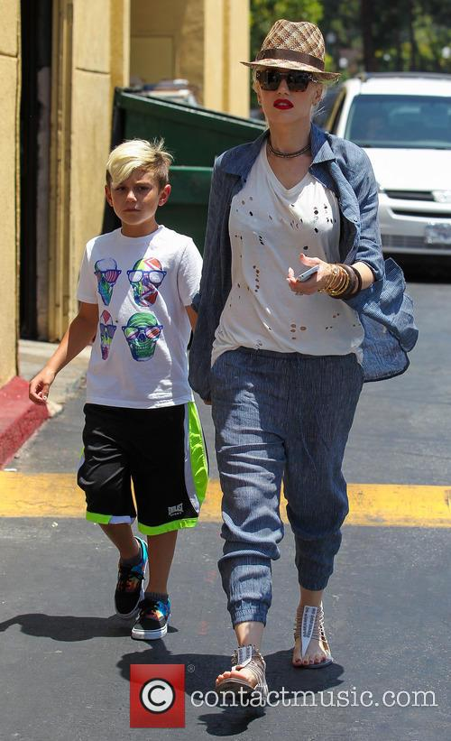 Gwen Stefani and Kingston Rossdale 11