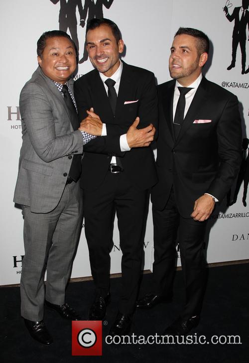 Alec Mapa, Paul Katami and Jeff Zarrillo