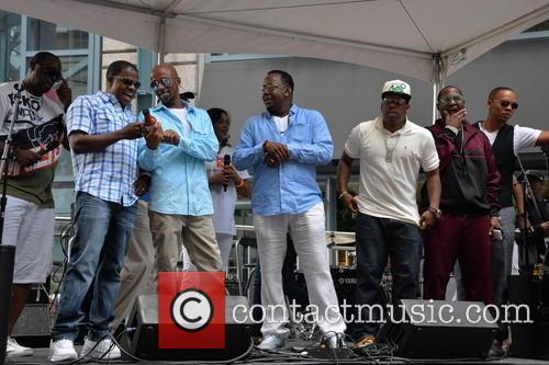 MICHAEL NUTTER, RICKY BELL, RALPH TRESVANT, BOBBY BROWN, MICHAEL BIVENS, RONNIE DEVOE and JOHNNY GILL 1
